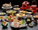 【6~8月ディナー】天然鳴門鯛・阿波牛・鮑 寿会席