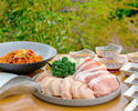 【お手軽BBQセット】豚ロース肉、鶏モモ肉など全4品