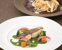 "【Lunch】 ""PLEASURE""  a four-course meal (recommended)"