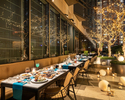 """【Terrace Seating with a glass of Sparkling wine】""""Mediterranean Greek Barbecue Terrace with a glass of sparkling wine"""