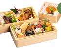 【テイクアウト】海鮮ミニちらしとおばんざいの彩り和会席弁当 お茶付き