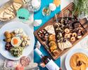 "【Inside seating Champagne free flow】""Mediterranean Greek Barbecue Terrace"
