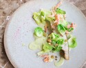 【Furutoshiのこだわりを凝縮!!】春の食材とアート的な感性で描かれるディナーコース 全8品