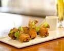 CRISP FRIED FIERY CHICKEN WINGS YUZU KOSHO AIOLI