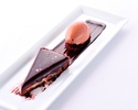 70%DARK CHOCOLATE TART EVOO  1pc