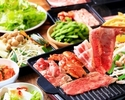 """★★牛・豚・鶏""""肉食べ放題""""BBQセット 飲み放題付き★★★"""