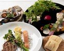 Weekday web reservation only Lunch Course 4,000yen→3,600yen