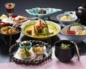 【季節会席×1ドリンク付き!】旬の食材を使用した焼物、酢物、加賀の味覚「治部椀」も味わえる贅沢ディナー