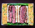"""To Go"" The Burn Special Steak Sandwich"