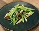 【テイクアウト】季節の青菜のにんにく炒め