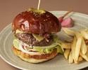 """N""style cheese burger  (200g patty)"