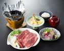 【夕食】 牛すき鍋膳