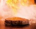 【大好評!千葉おもてなし鉄板焼コース】千葉県産A3ランク黒毛和牛ロース・魚料理他全8品