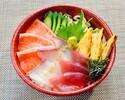 【テイクアウト】刺身三色丼