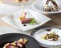 7・8月【フリードリンク付】 前菜2品含む全6品プリフィクスディナー!