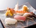 寿司ランチ「旗立」
