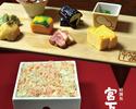 高級海苔と厳選素材の新たなるランチ【毛蟹のお海苔ご飯のみやした定食】
