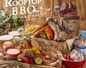 【ランチ】贅沢♪6種のお肉とシーフードも楽しめるプレミアムBBQプラン (飲み放題付き)¥5,000