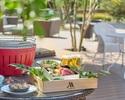 [Terrace] Lunch Premium BBQ in Tokyo Marriott