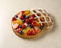 【デコレーションケーキ】ミックスフルーツタルト6号(直径 約18cm)
