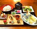 ■湯葉尽くし御膳+季節の天婦羅【京 天】