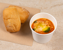 Organic vegetable minestrone, barley