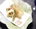【Weekday Tempura Lunch Course Kumoi】Glass Champagne Henriot