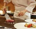 【Weekday Teppanyaki Lunch Course Nadeshiko】Glass Champange Henriot
