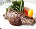 『GMCステーキコース』平日限定!乾杯スパークリング付き。メインには牛ステーキ、前菜〜デザートまで