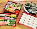 【テイクアウト】手巻き寿司セット「並」+「上」