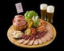 【焼肉食べ放題プラン】肉祭りプレート食べ放題&飲み放題付きビアガーデン