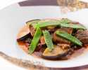 [Omi beef lunch] Shark fin pot rice cooked with Omi beef oyster sauce, all 7 dishes + 1 drink