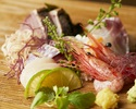 ◆A great deal for à la carte reservations ◆Cheers toast + advance + sashimi platter [3 types of sashimi set]