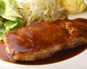 ポークソテーガーリック醤油(ライス付)
