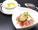【おすすめランチ】ステーキ丼 ~プラス フォアグラ~