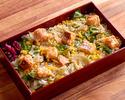 季節の土鍋炊きご飯(器使い捨て用)