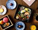 【15時30分~】京都老舗菓子司とのコラボレーション「和のアフタヌーンティー」