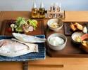 糸島鯛の塩釜焼き定食