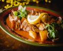 【テイクアウト】豚肉とアサリの炒め物 アレンテージョ風