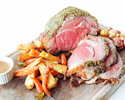 Set for 6 persons (AUSTRALIAN GRAIN FED ROASTED BEEF, MUSTARD HERB CRUSTED)