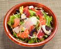 【テイクアウト】海鮮温玉サラダ