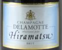【タクシーデリバリー】 ボトルシャンパン Delamotte Brut Hiramatsu