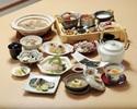 【夕膳~檜~】福島県産の魚をメインで堪能!ウニ、トリュフご飯、常磐ものお造り、炭火焼など全9品