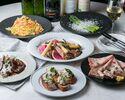 ★メインには魚料理と肉料理のフルコース☆★大満足GARB贅沢プラン★☆!!料理は11品+飲み放題150分付!