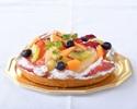 季節のフルーツケーキ