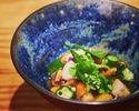 【ディナー おまかせコース】旬の食材と手しごとを堪能するコース
