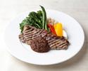 【デリバリー】牛サーロインステーキとグリル野菜(配達時支払い)