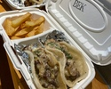 フェリーチーズステーキ tacos 1pc