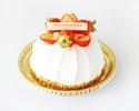 Strawberry Whole Shortcake 12cm