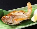 のどぐろと7種の天ぷら御膳